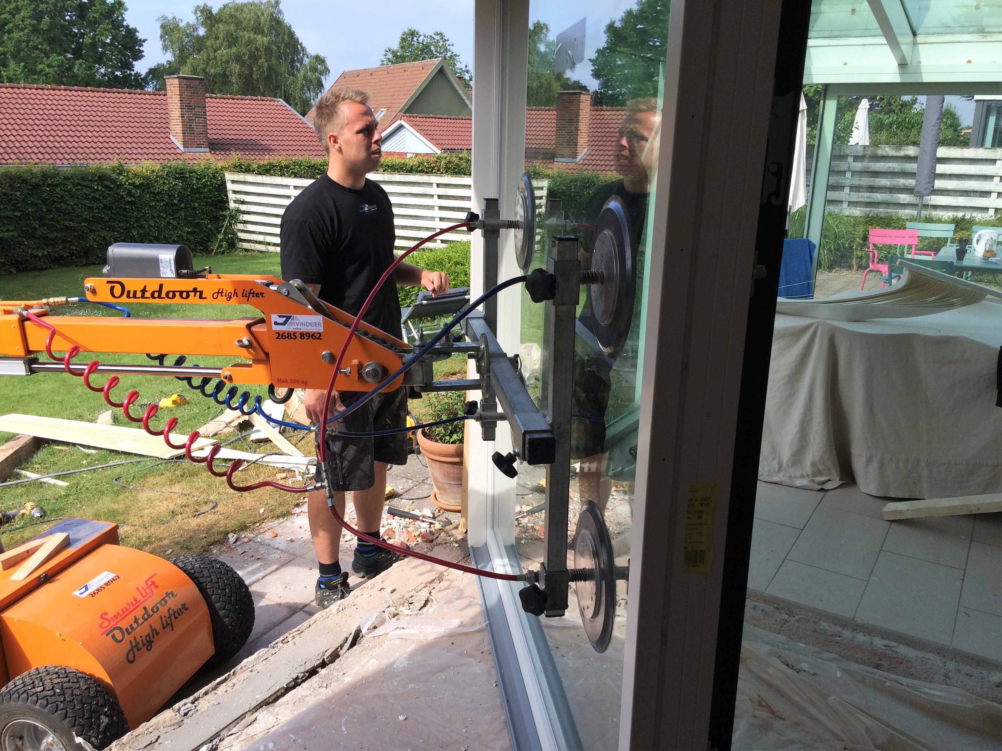 Nye vinduer - renovering af villa