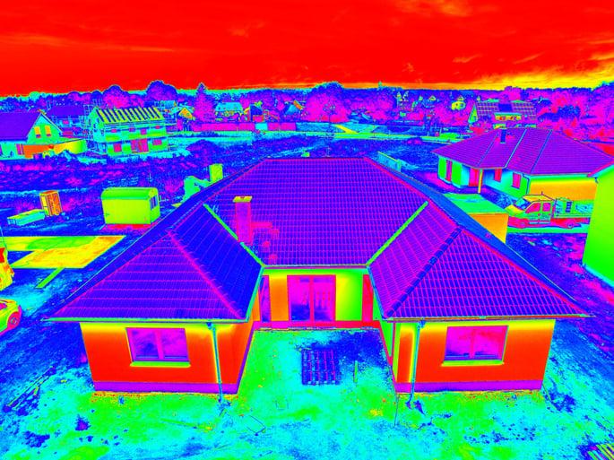 Termografi viser, hvor varmen slipper ud af dit hus.